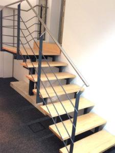 Treppenstufen vom Schreiner